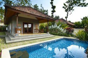 Pool villa plataran borobudur