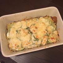 Le blog de natte - Gratin de courgettes et ravioles