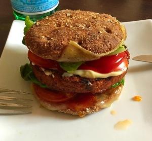 veggie burger - le blog de natte