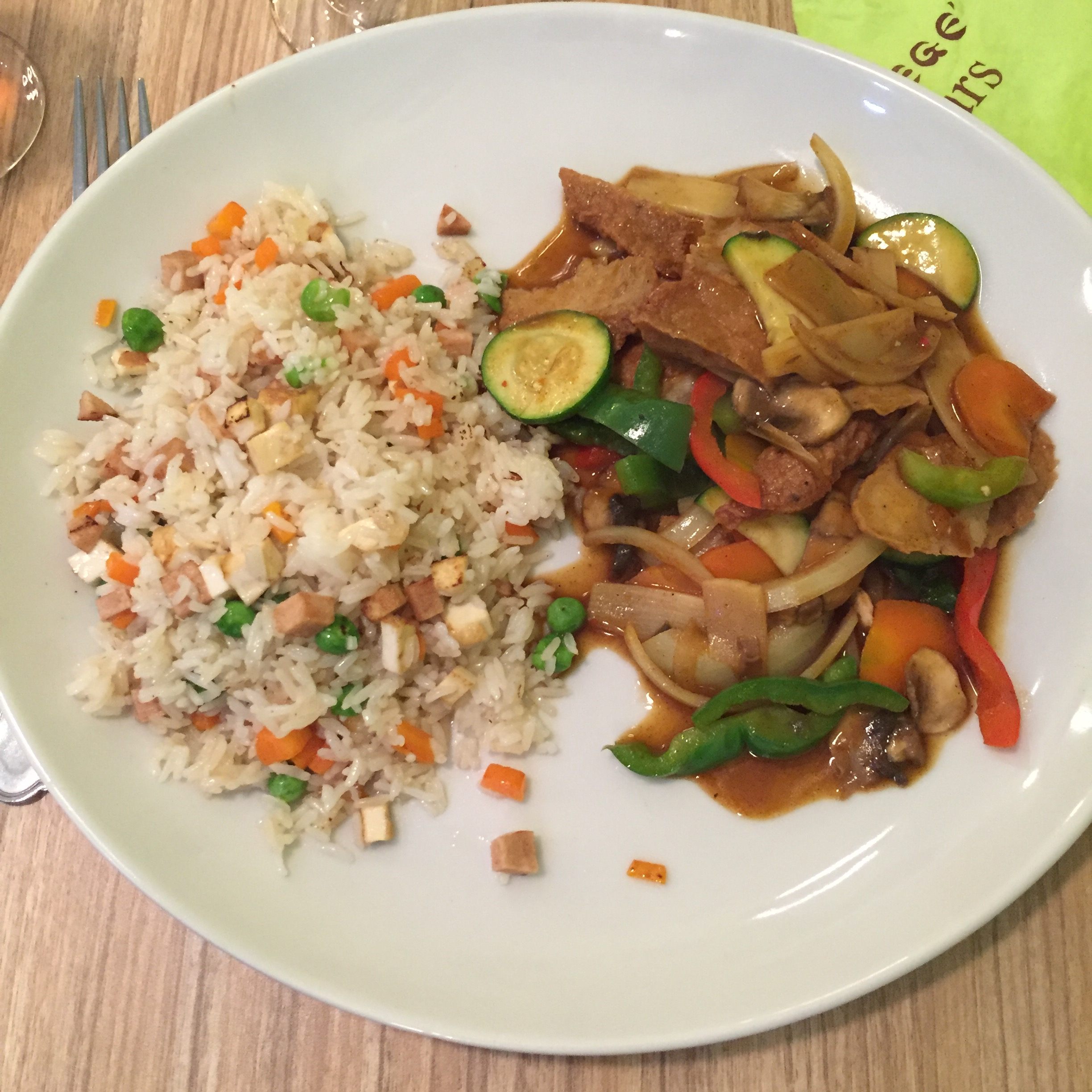 Restaurant Paris Vegan Asiatique Nouilles
